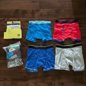 New Mixed boxer brief underwear! Size M 10-12